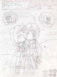 Virtual Love by OtakuPrincessArtist