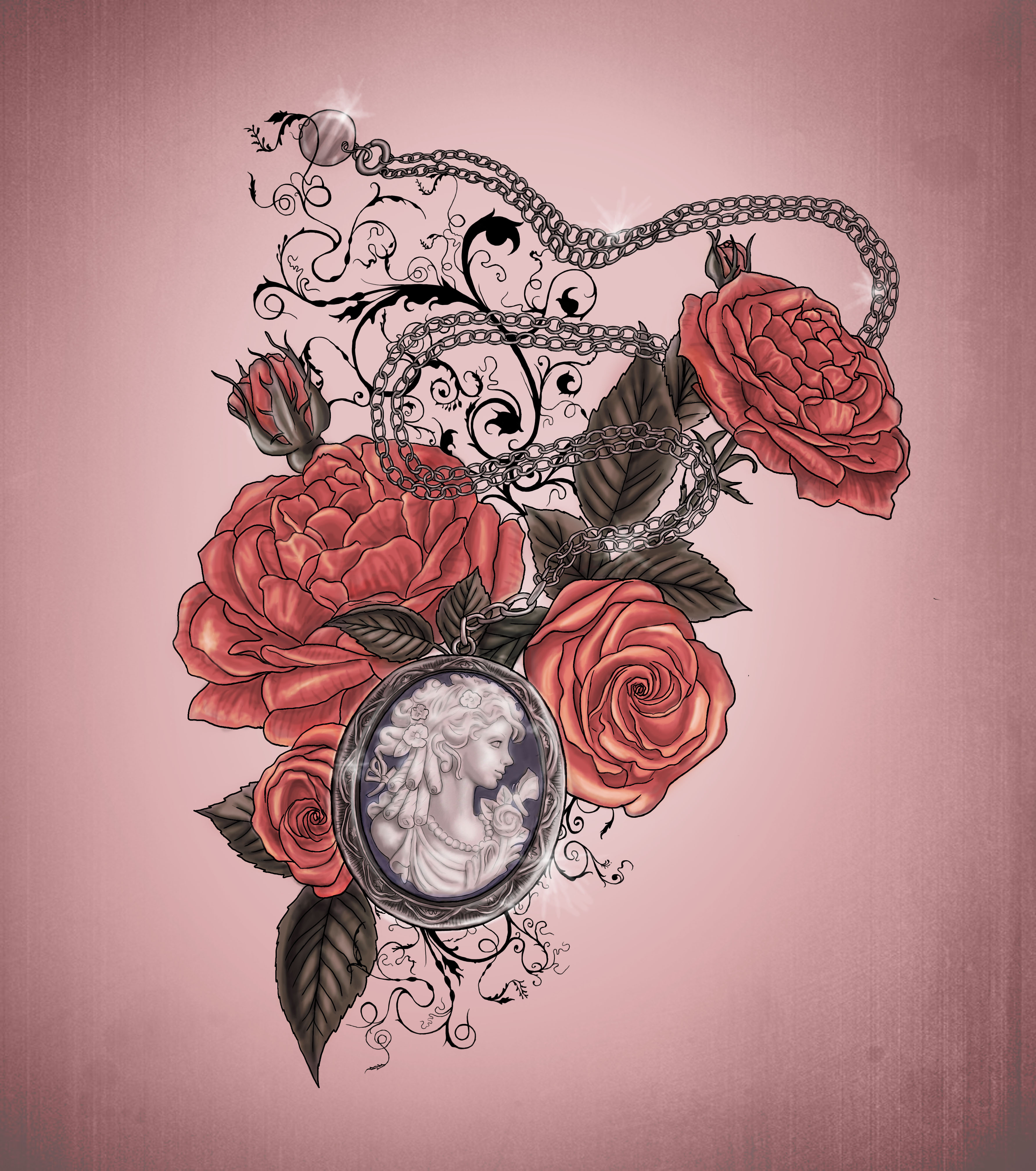 1000+ images about Tattoo art on Pinterest   Victorian ...  Victorian Flower Tattoo