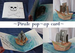 Pop-up Pirateship