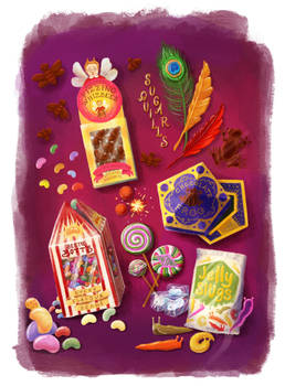 HarryPotter Candy by Mortani