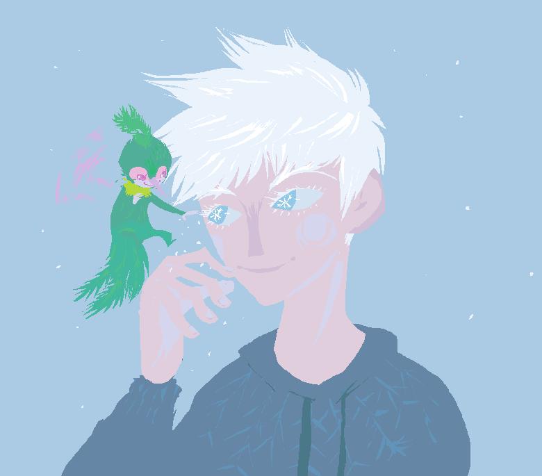 eyelash snowflakes by Spoonfayse