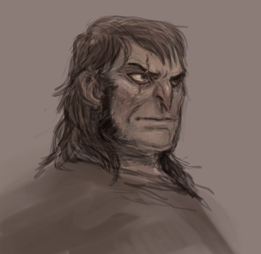 Risto  bust...ish by Spoonfayse