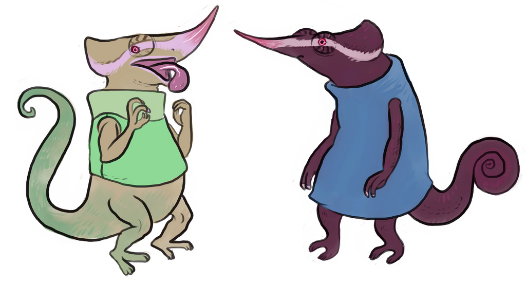 chameleon persona concepts by Spoonfayse