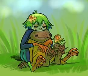 frog girlfriends