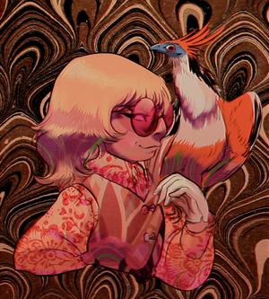 Mockingbird and Hoatzin