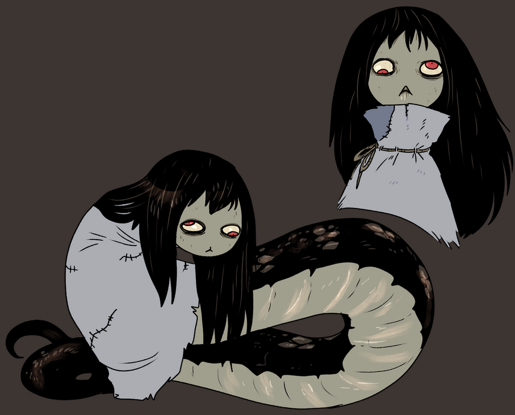 snake girl by Spoonfayse