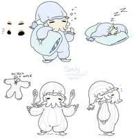 pyjama squid concept by Spoonfayse