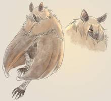 soft bat by Spoonfayse