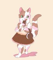ice cream cat by Spoonfayse