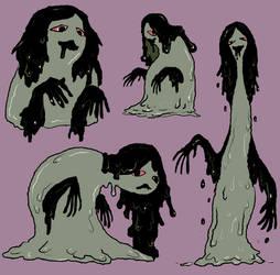 slime monster by Spoonfayse