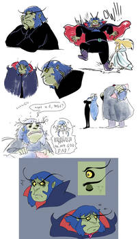 rothbart doodles