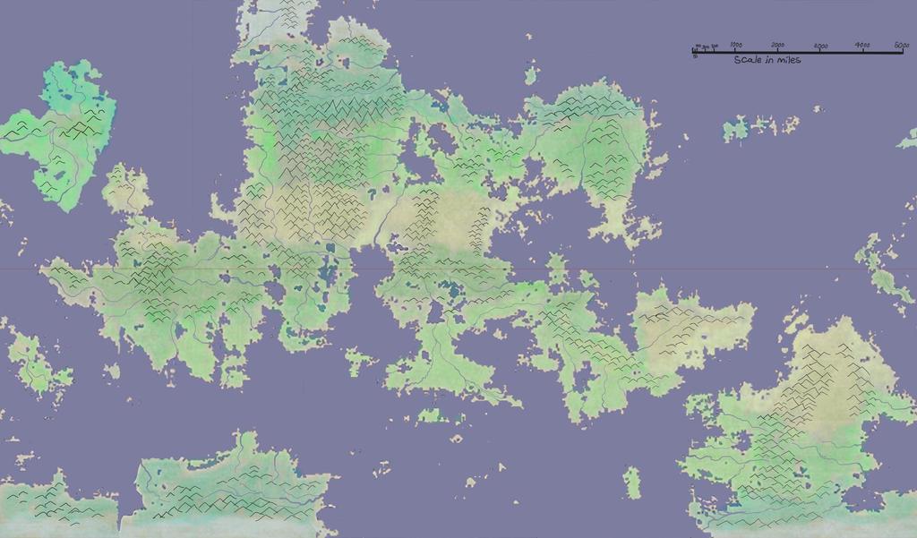 Fantasy World Map - Large Fantasy World Map By Langon Pjkfs