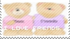 I Love Friends - First Stamp by blue98