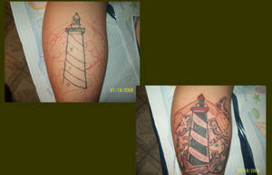 lighthouse cover up by dannewsome
