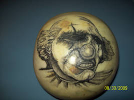 evil clown tattoo by dannewsome