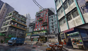 Sleeping Dogs concept - North Point Safehouse
