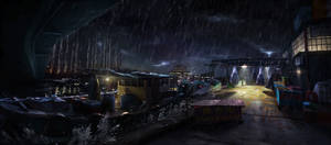 Sleeping Dogs concept - Welcome to Hong Kong
