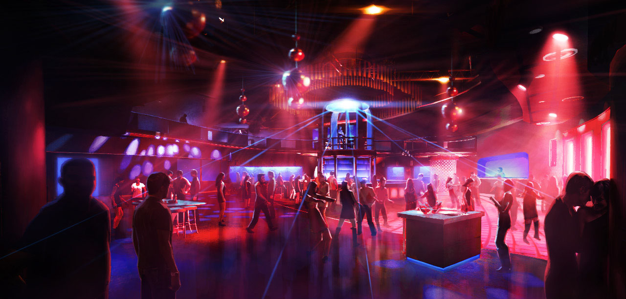Sleeping Dogs concept - Club Bam Bam Interior by Kuren