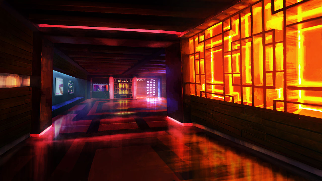 Sleeping Dogs concept - Club Bam Bam Hall by Kuren