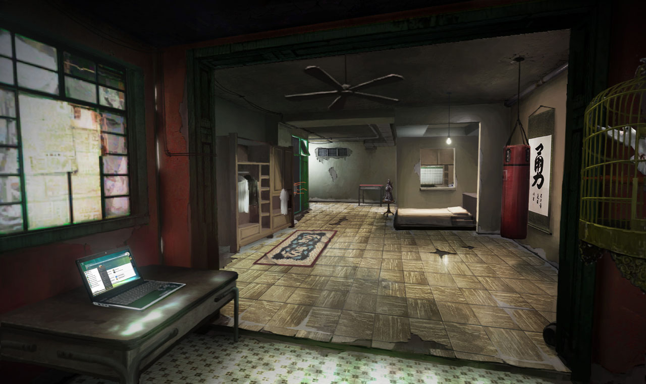 Sleeping Dogs North Point Safehouse Interior 2 By Kuren On Deviantart