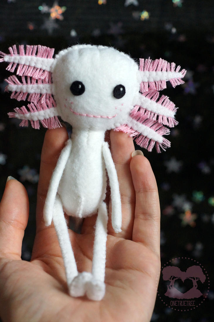 Axolotl Doll 2 by quirkandbramble
