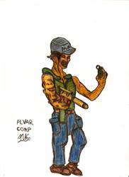 HoD Military Dude by HenitoKisou