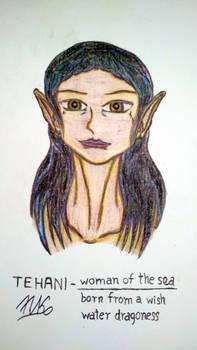 TEHANI - woman of the sea