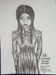 Ishtar before Inanna