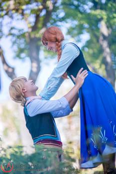 Anna and Kristoff (Frozen) 2