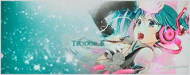Hatsune Miku Signature by TeodorB