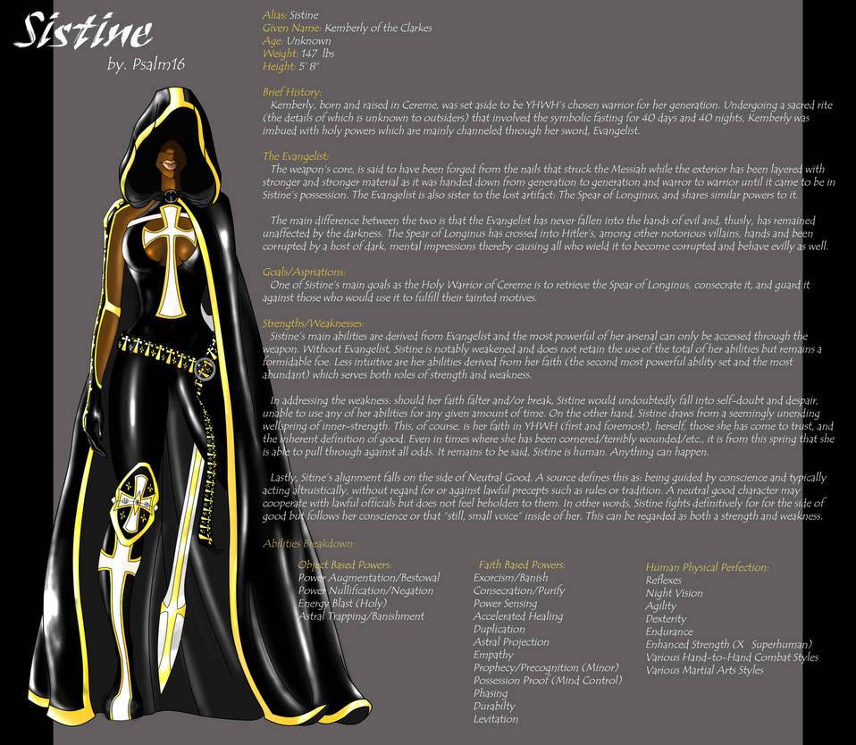 Sistine by psalm16 on DeviantArt