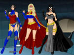 Wonder Woman, Superwoman and Batwoman