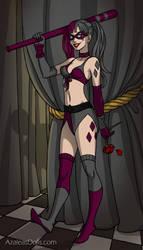 Alexa as Harley Quinn