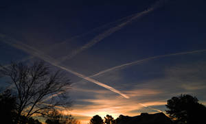 Sunrise N Jet Streams