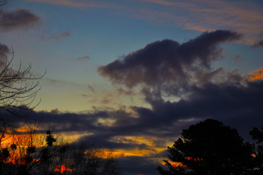 Morning Sky 3-11-12 by Tailgun2009