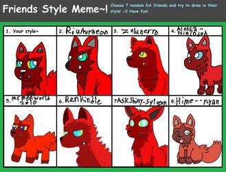 Friends Style Meme by DrewTheRedPoochyena