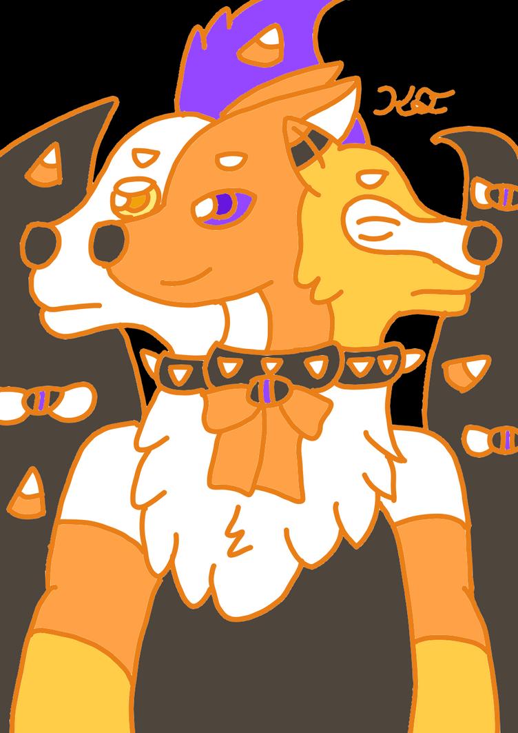 Cerby anthro by PhantomUni-Wolf by PhantomUni-Wolf