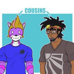 Daily Flat - Cousins by piqueRAJ
