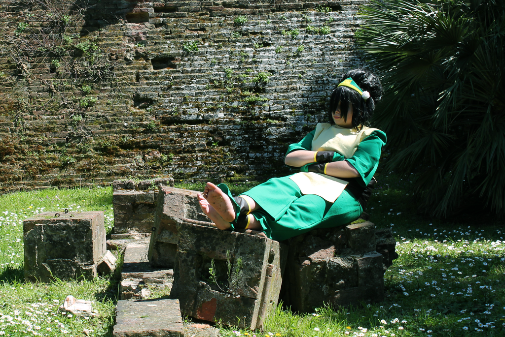 Toph by ReikoPhantomhive