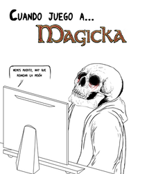 Odio Magicka by Monztruo