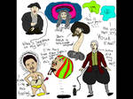 Pirates of the Caribbean, Sketches by makeitBIGandGOOD