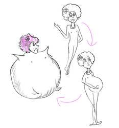 Dr. Seuss inspired Effie Trinket inflation by makeitBIGandGOOD