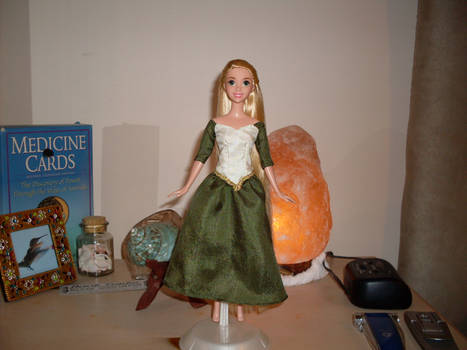 Tangled Rapunzel Concept Art Custom Doll