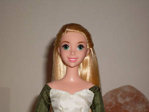 Tangled Concept Custom Doll Close-Up