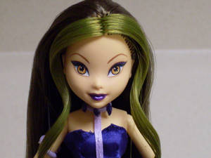 Winx Club Darcy Witch OOAK Closeup