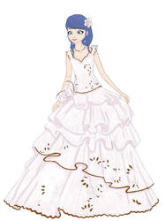 Marinette in the mysterious dress by emelychayne