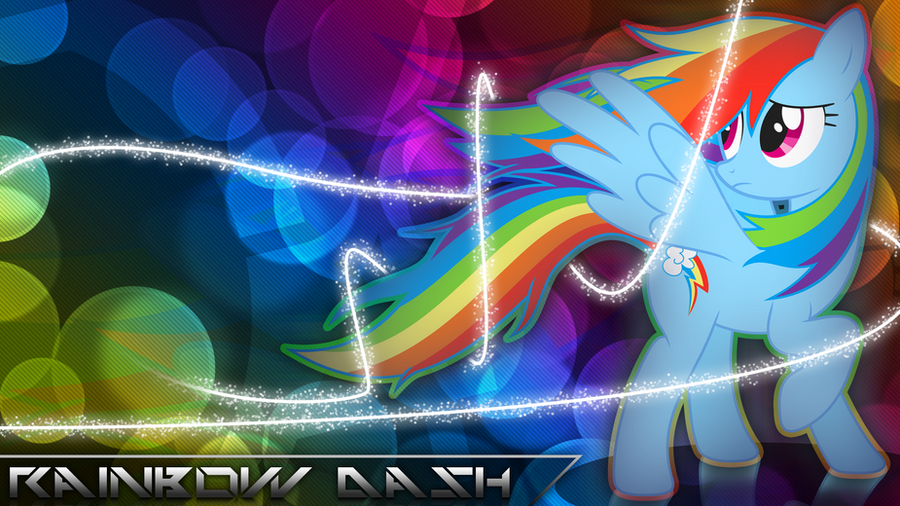 Rainbow Dash: Rainbow Breeze by dadio46