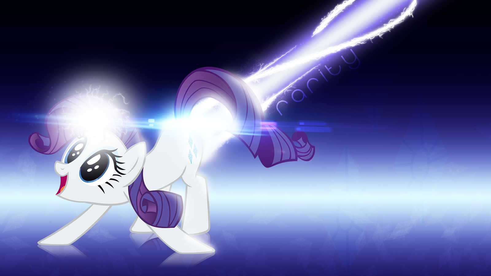 Rarity's Colon Cannon by dadio46