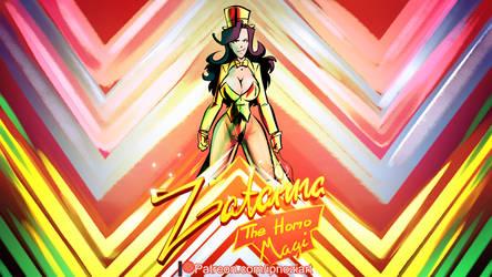 Zatanna 2021 The Homo Magi (Full Comic Preview) by ipnozi