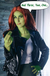 Poison Ivy Cosplay Story by ipnozi
